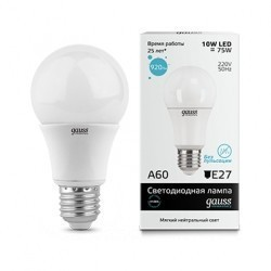 Лампа Gauss Elementary LED 23220