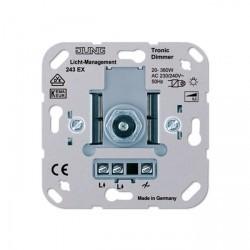 Механизм поворотного светорегулятора-переключателя Jung Коллекции JUNG, 360 Вт, 243EX