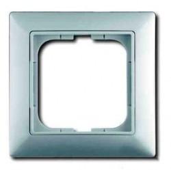 Рамка 1 пост ABB BASIC55, альпийский белый, 1725-0-1479