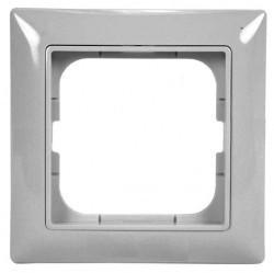 Рамка 1 пост ABB BASIC55, chalet-white, 1725-0-1511