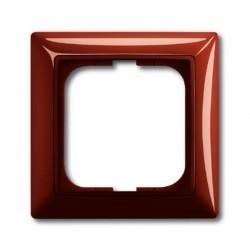 Рамка 1 пост ABB BASIC55, foyer-red, 1725-0-1516