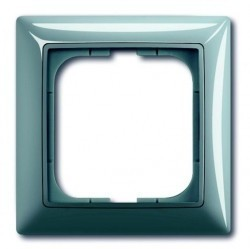 Рамка 1 пост ABB BASIC55, bistro-blue, 1725-0-1521