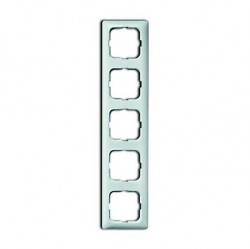Рамка 5 постов ABB REFLEX, альпийский белый, 1725-0-1498