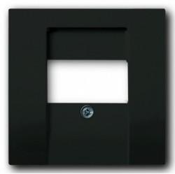 Накладка на аудиорозетку ABB BASIC55, château-black, 1724-0-4315