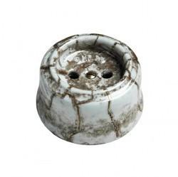 Розетка Fontini GARBY, открытый монтаж, с заземлением, со шторками, коричневый, 30205152