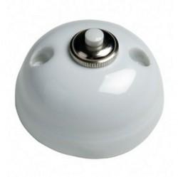 Выключатель 1-клавишный кнопочный Fontini GARBY, открытый монтаж, черный, 30310272