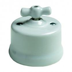 Светорегулятор поворотный Fontini GARBY, 500 Вт, белый, 30333172