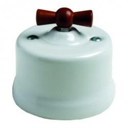 Светорегулятор поворотный Fontini GARBY, 500 Вт, белый, 30333182