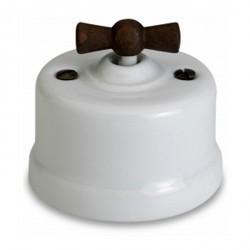 Светорегулятор поворотный Fontini GARBY, 500 Вт, белый, 30333212