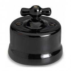 Светорегулятор поворотный Fontini GARBY, 500 Вт, черный, 30333272