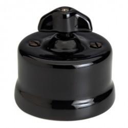Светорегулятор поворотный Fontini GARBY, 500 Вт, черный, 30333282