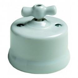 Светорегулятор поворотный Fontini GARBY, 900 Вт, белый, 30334172
