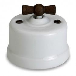 Светорегулятор поворотный Fontini GARBY, 900 Вт, белый, 30334212