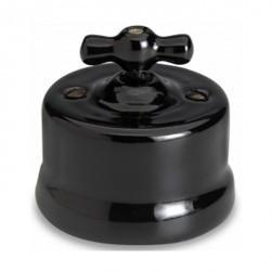 Светорегулятор поворотный Fontini GARBY, 900 Вт, черный, 30334272