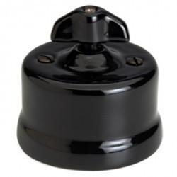 Светорегулятор поворотный Fontini GARBY, 900 Вт, черный, 30334282