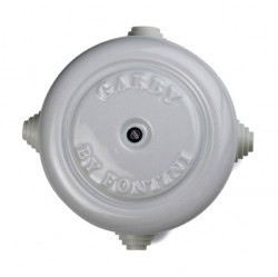 30401172Garby/Dimbler Распред.коробка 116mm, белый фарфор