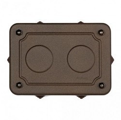 30402222Garby/Dimbler Распред.коробка 175X125X50MM, состаренный металл