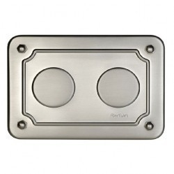 30402512F-37 Распределительная коробка 175x125x50 мм, никель