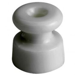30913170Garby/Dimbler Изолятор ø19x20 mm, белый, керамика (упак. 25шт)
