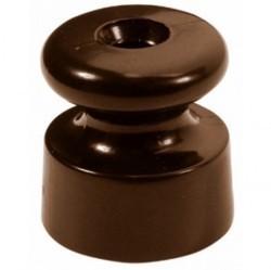 30913470Garby/Dimbler Изолятор ø19x20 mm, коричневый, керамика (упак. 25шт)