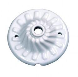 30940172Garby Розетка для люстр, белая керамика