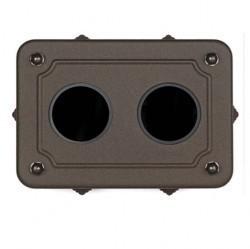 35408222Venezia Коробка распределительная для горизонтальной установки 175X125X50 мм, состаренный металл