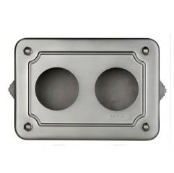 35408512Venezia Коробка распределительная для горизонтальной установки 175X125X50 мм, состаренный металл