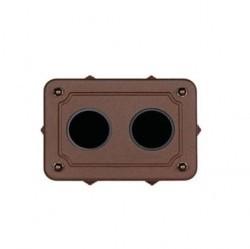 35409222Venezia Коробка распределительная для вертикальной установки 175X125X50 мм, состаренный металл