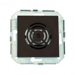 Выключатель 1-клавишный Fontini F37, скрытый монтаж, коричневый, 37390032