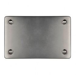 37399512F-37 Распределительная коробка 2-ная 86x160x40мм, никель