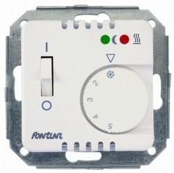 Термостат комнатный Fontini F37, белый, 37721052