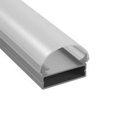Lightstar Профиль с полукруглым рассеивателем для светодиодной ленты, материал: алюминий, 1шт =3м, 409319