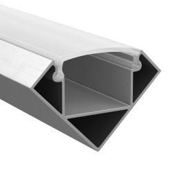 Lightstar Профиль PROFILED с полукругл. рассеив-м д/светодиод. лент, материал: алюм., 1шт=2м, 409629
