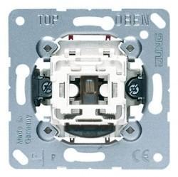 Механизм выключателя 1-клавишного двухполюсного Jung Коллекции JUNG, с подсветкой, скрытый монтаж, 506KOU