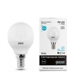 Лампа Gauss LED Elementary Globe 53128