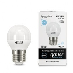 Gauss LED Elementary Globe 53236
