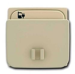 Накладка на розетку USB ABB TACTO, шампань, 5585 CV