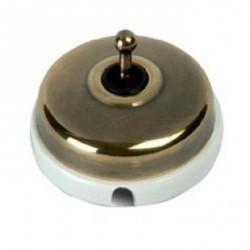 Переключатель тумблерный Fontini DIMBLER, бронза, 60308532