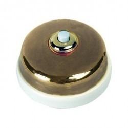 Кнопка нажимная Fontini DIMBLER, античная бронза, 60310572