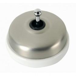 Выключатель тумблерный двухполюсный Fontini DIMBLER, хром, 60314512