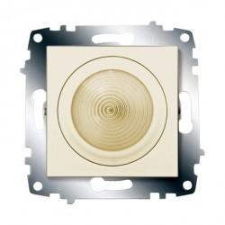 Cosmo Подсветка диодная 160-250В~ 5Вт с выключателем, крем.