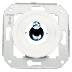Выключатель тумблерный Fontini VENEZIA, хром/белый, 65306262