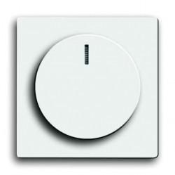 Накладка на светорегулятор ABB, альпийский белый, 6599-0-3009