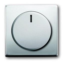 Накладка на светорегулятор ABB PURE СТАЛЬ, стальной, 6599-0-2959