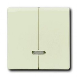 Накладка на светорегулятор ABB AXCENT, chalet-white, 6599-0-3003
