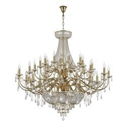 Lightstar (MD00071-51) 3 КОР!!! Люстра подвесная CLASSIC 51х60W E14 ЗОЛОТО, 700512
