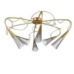 Lightstar  (SX1105/6)  Люстра AEREO 6х25W G9 gold foil, 711063