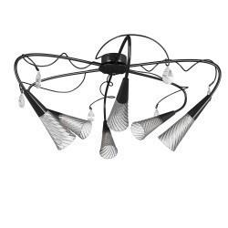 Lightstar (SX1105/6)  Люстра AEREO 6х25W G9 BLACK, 711067