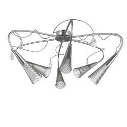 Lightstar  (SX1105/6)  Люстра AEREO 6х25W G9 Silver foil, 711069