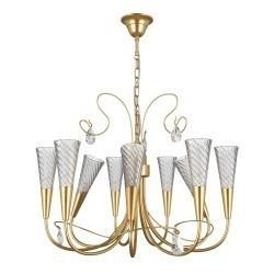 Lightstar  (SD1105/9)  Люстра AEREO 9х25W G9  gold foil, 711093